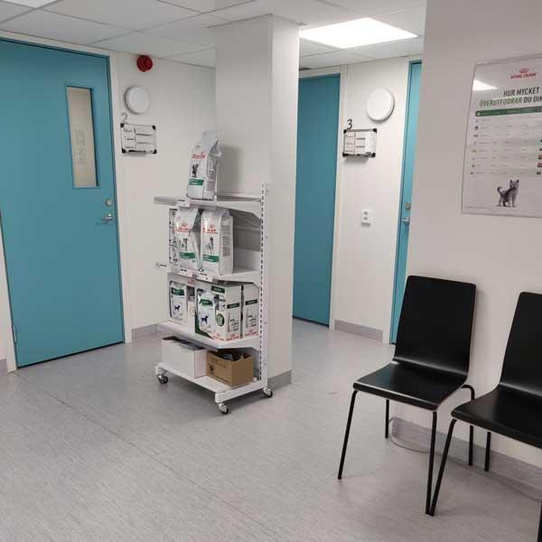 rum för öppen vårdmottagning