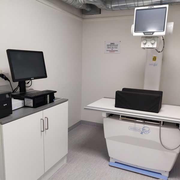 rum för röntgen